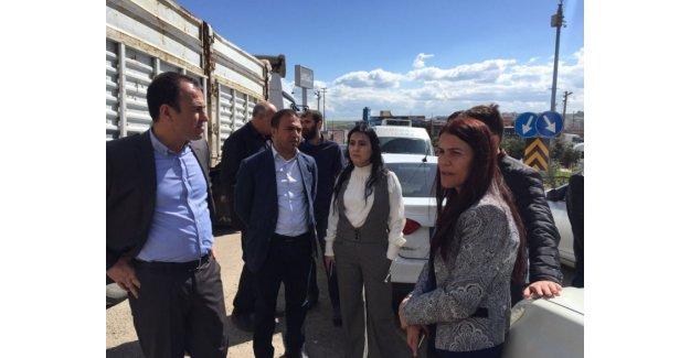 Nevruz yasağına rağmen Cizre'ye giden Yüksekdağ durduruldu