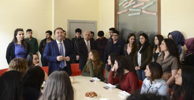 Öğrenciler Başkan Kılıç'ı kahvaltıda ağırladı