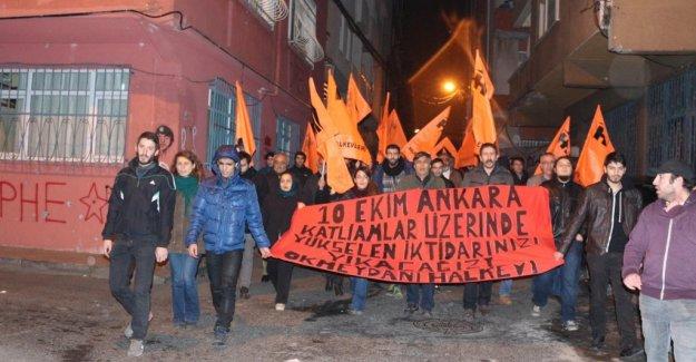 Okmeydanı halkı Halkevi'ne yapılan saldırıya karşı yürüdü