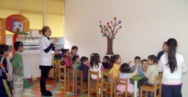 Okula Başlayacak Öğrencilere Okul Öncesi Olgunluk Eğitimi