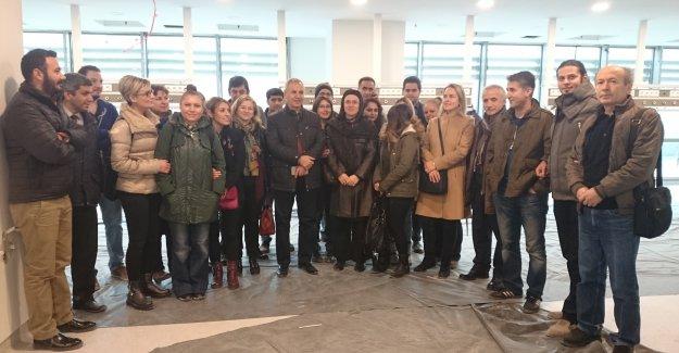 Opr.Dr.Hüseyin Urlu Yeni Hastaneyi Basın'a ve  Ekibine Tanıttı