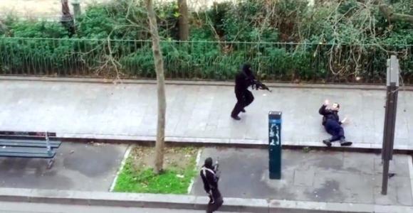 Paris'teki saldırı görüntülerinin montaj olduğu öne sürüldü