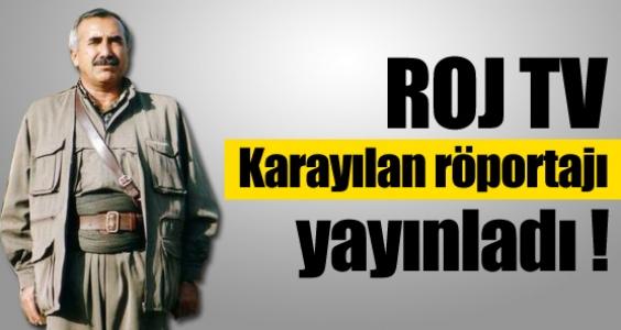 Roj TV Karayılan röportajını yayınladı