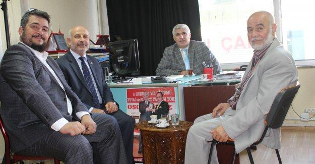 Saadet Partisi Zeytinburnu İlçe Başkanından Ziyaret