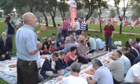 Saadet Partisi Zeytinburnu Teşkilatı İftarda