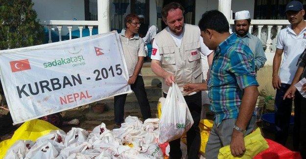 Sadakataşı Derneği Nepal'de Vekalet Kurbanları Kesti!