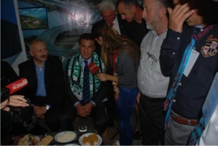 Sarıgül Trabzon günlerinde İstanbultimes.tv ye konuştu