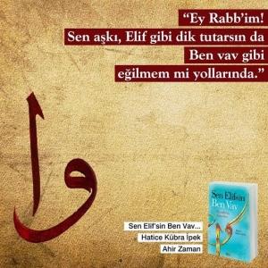 """""""Sen Elif isen ben Vavım"""