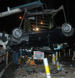 Şişli'de trafik kazası: 1 yaralı