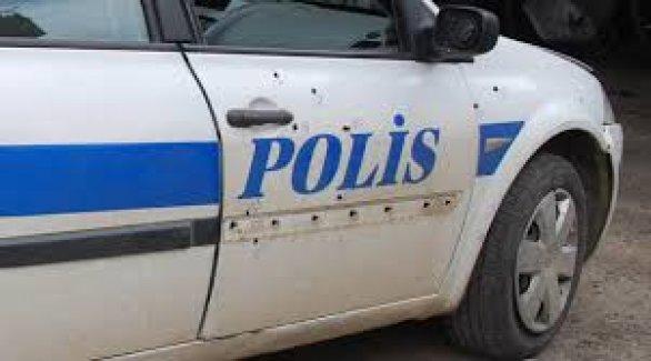 Sivil Polis Aracına Saldırı