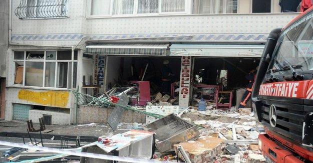 Son dakika haberi İstanbul'da doğalgaz patlaması