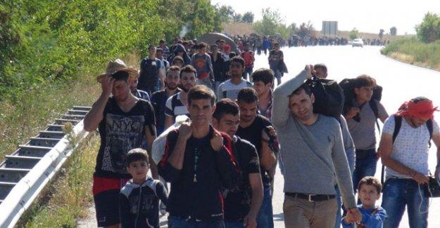 Suriyeliler Avrupa'ya Gidebilmek İçin Harekete Geçti
