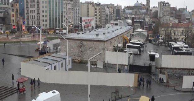 Taksim'de cami projesi için çalışmalar başladı
