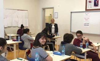 Çapa Bilim Koleji TEOG sınavının ilk gününü değerlendirdi