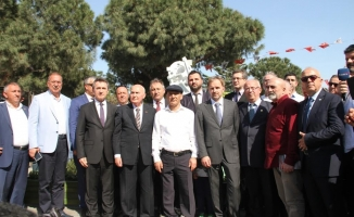 Srebrenıca Soykırımı Anıtı Kartal'da Açıldı