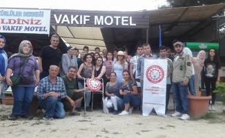 Vakıf Motel Engellilere Ağırladı