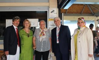 GZP'den Paşa Kızına Ziyaret