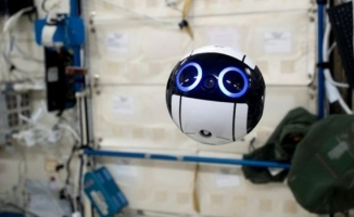 Uzay robotundan ilk görüntü