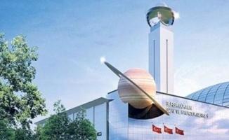 Türkiye'nin ilk uzay merkezinin temeli atıldı