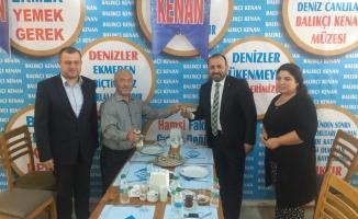 AK Parti İlçe Başkanı damat tebrik etti, bolluk diledi