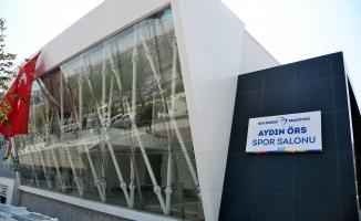 Aydın Örs Kapalı Spor Salonu inşaatı tamamlandı