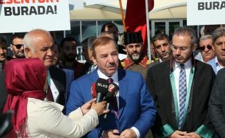 15 Temmuz Şehitler Köprüsü davasını Kadıoğlu'da izledi
