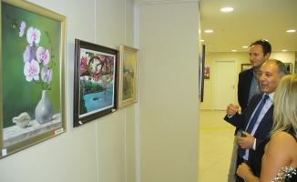 Atölye pervane karma seramik sergisi Kartal belediyesi'nde açıldı