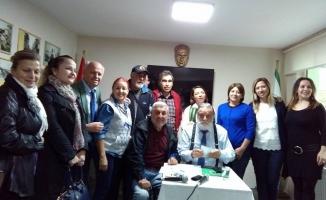 Bakırköylüler Derneği'nin bu ay ki konuğu Erdoğan Sıcak