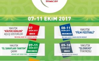 """""""İstanbul'da Yakutsk Kültür Günleri"""" başlıyor"""