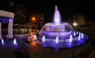 Küçükçekmece'de parklar süs havuzlarıyla güzelleşiyor