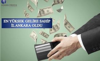 Türkiye'nin en yüksek ekonomili ili:Ankara