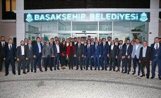Uysal'dan Başakşehir'in yeni  Başkanına ziyaret