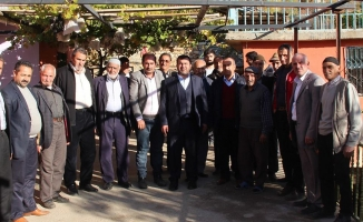 Ak Parti Pütürge İlçe Teşkilatından Mahalle Ziyaretleri