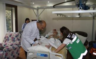 Bakırköy Belediyesi Yılda 7 Bin Hastaya Ücretsiz Evde Sağlık Hizmeti Veriyor