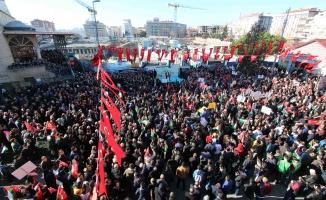 Abd Başkanı Trump'ın Kudüs Kararı Bağcılar'da Protesto Edildi