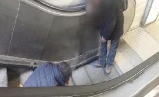 İstanbul'un göbeğinde korkunç görüntüler