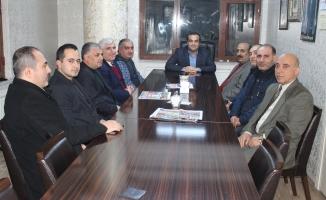 ZEYMADER Erbakan Vakfını ve MHP İlçe Başkanını Ziyaret Etti