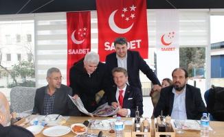 Başakşehir Saadet Partisi Basın Mensupları ve Ailelerini Ağırladı