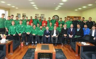 Bayrampaşaspor'dan Başkan Aydıner'e Ziyaret