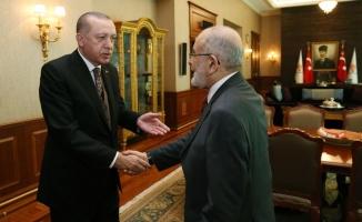 Erdoğan-Karamollaoğlu görüşmesi sonrası ilk açıklama