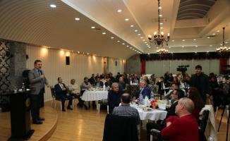 Gazeteciler Başkan Alatepe'yi Samimi buldu