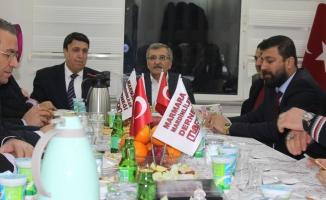 Mardinliler Murat Aydın'ı ağırladı