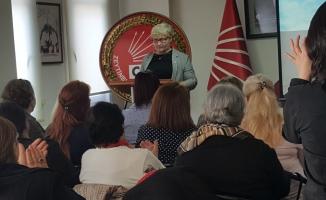 CHP'li Kadınlar, 8 Mart'ı Kutladı