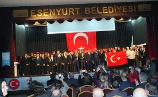 Esenyurt İstiklal Marşını ve Akif'i Unutmadı