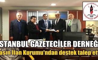 İGD; Basın İlan Kurumu'ndan destek talep etti