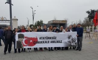 Zaferin 103. Yılında CHP Zeytinburnu Gençliği Sokakta!