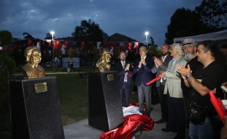 Bakırköy'de sanatçılar parkı açıldı