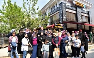 Maltepeli kadınlara ücretsiz boğaz turu