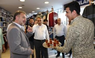 Başkan Alatepe'den esnaf ziyareti