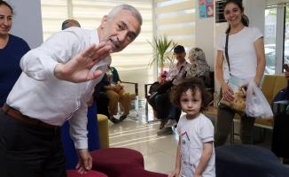 Başkan Kılıçtan engelli öğrencilere müjde